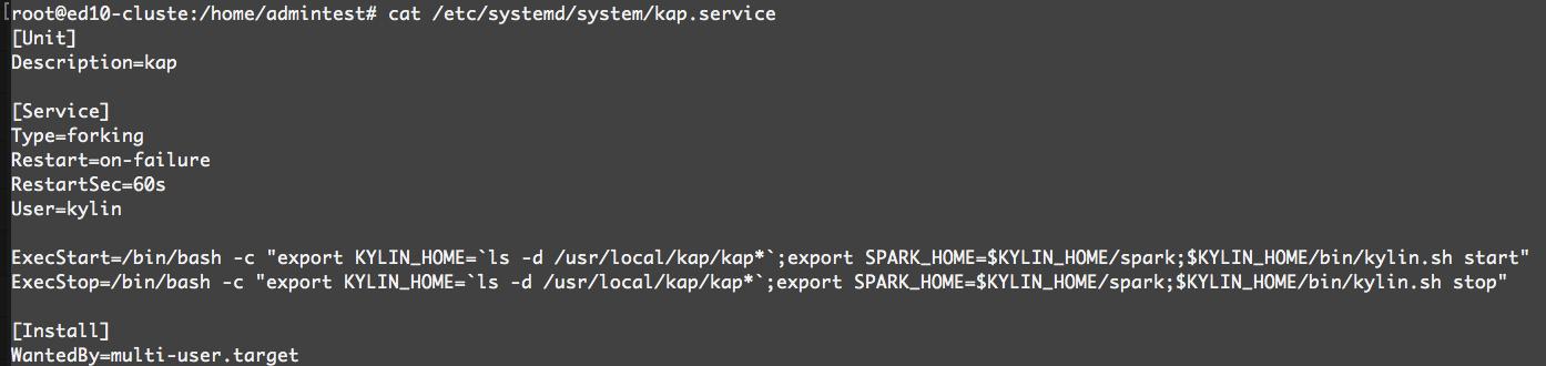 Kap Service File
