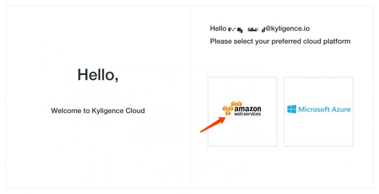 Kyligence Cloud Platform Selection