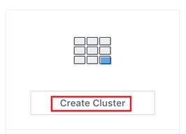 Kyligence Data Cluster Creation